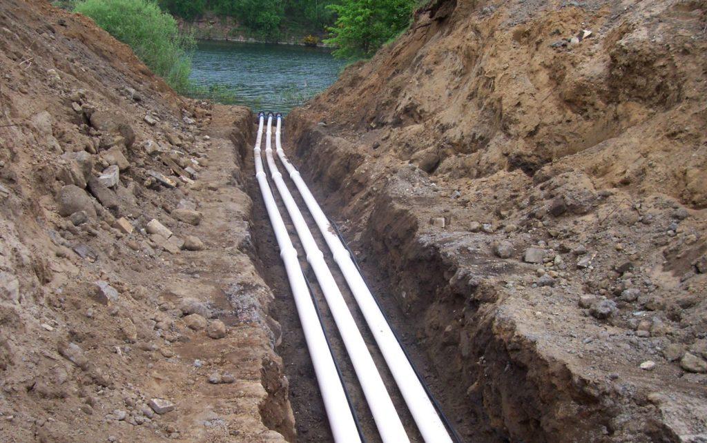 Underground irrigation systems K W Timmins Lincolnshire