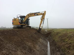 Ditch water coarse main K W Timmins Lincolnshire