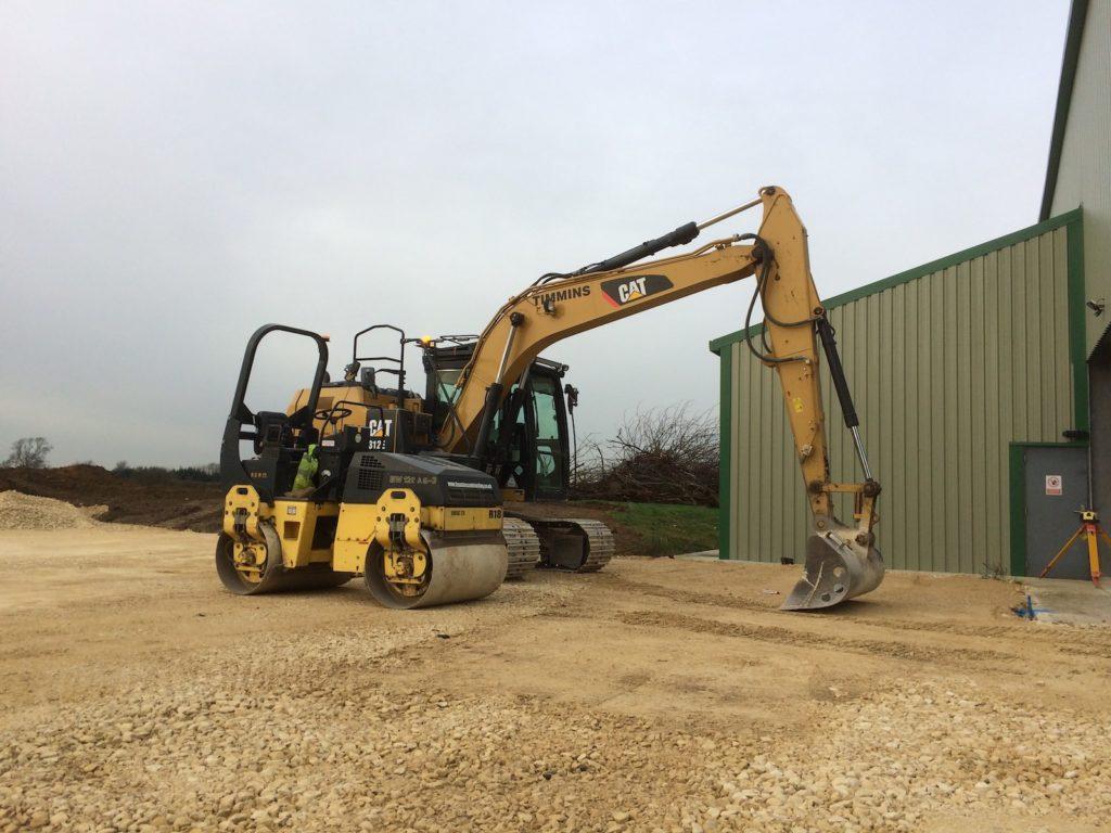Excavator Hire K W Timmins Lincolnshire
