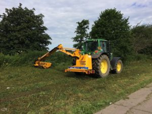 affordable flail mower hire Lincolnshire
