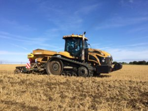 K W Timmins contracting operated plant hire Lincolnshire