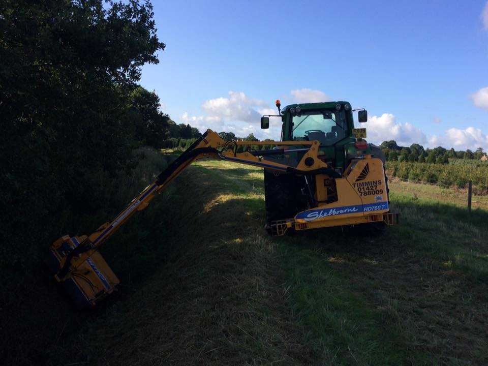 K W Timmins contracting plant hire grounds maintenance services
