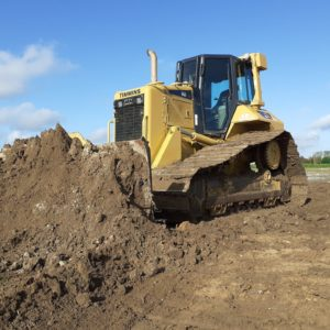 clearance machinery - bulldozer
