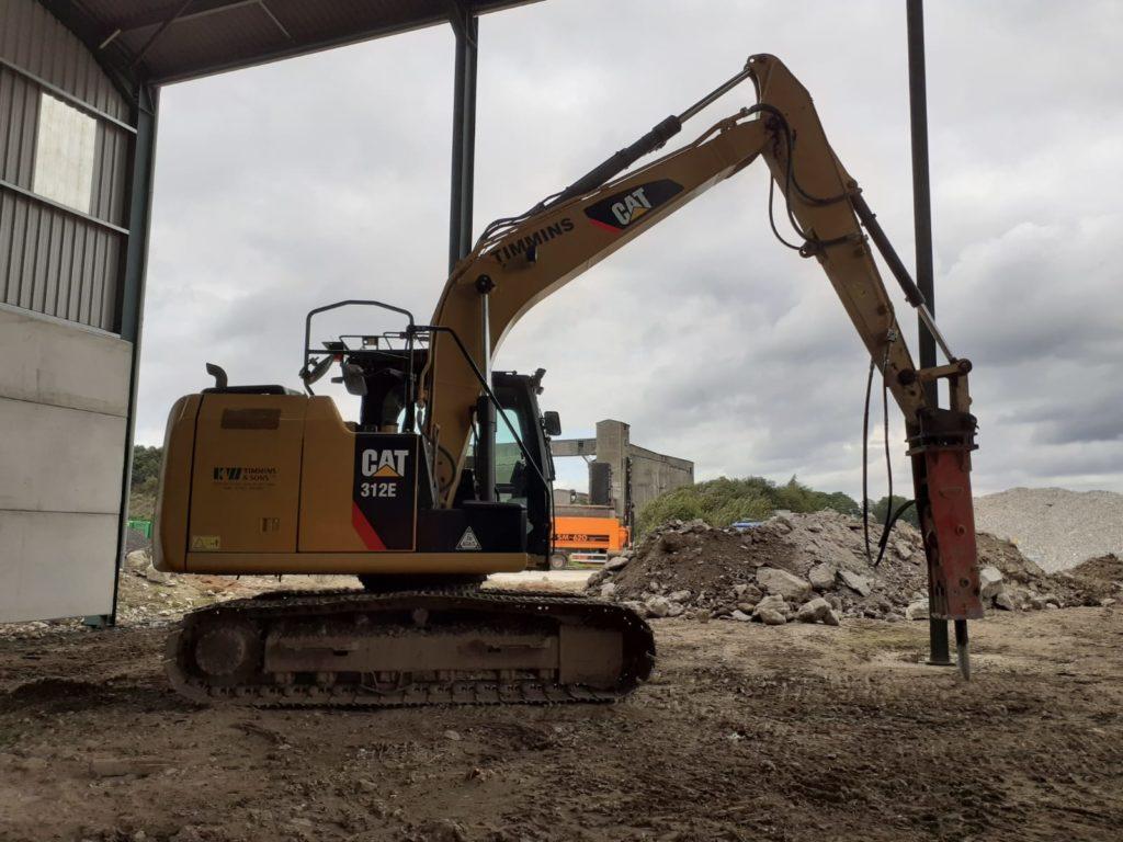 excavator plant hire service