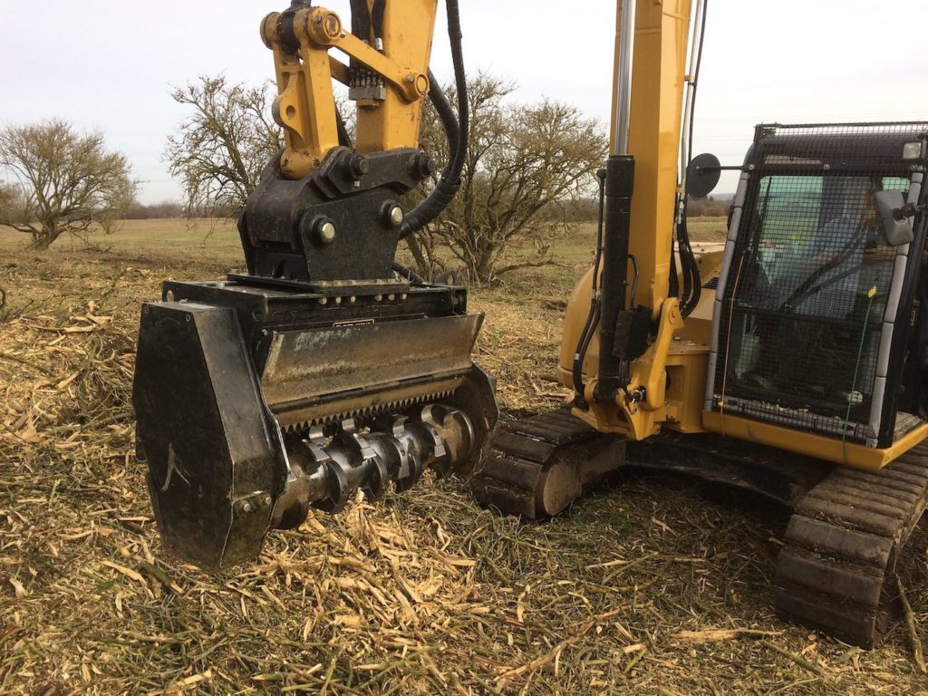 Forestry Mulcher Mower Hire K W Timmins Lincolnshire