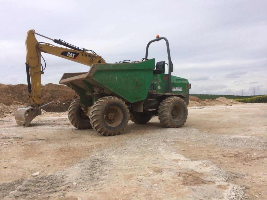 K W Timmins dumper plant hire Lincoln
