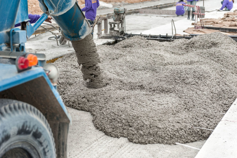 Laser Screed Concrete