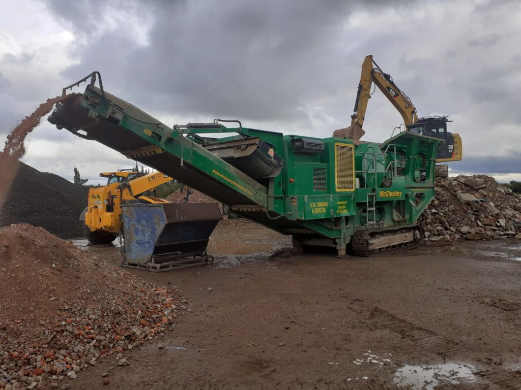 concrete crushing hire