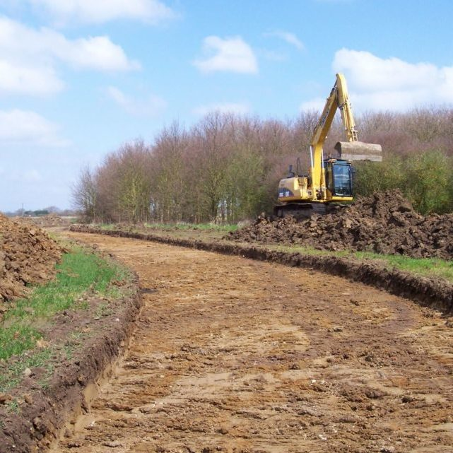 Access Roadway Construction K W Timmins Lincolnshire