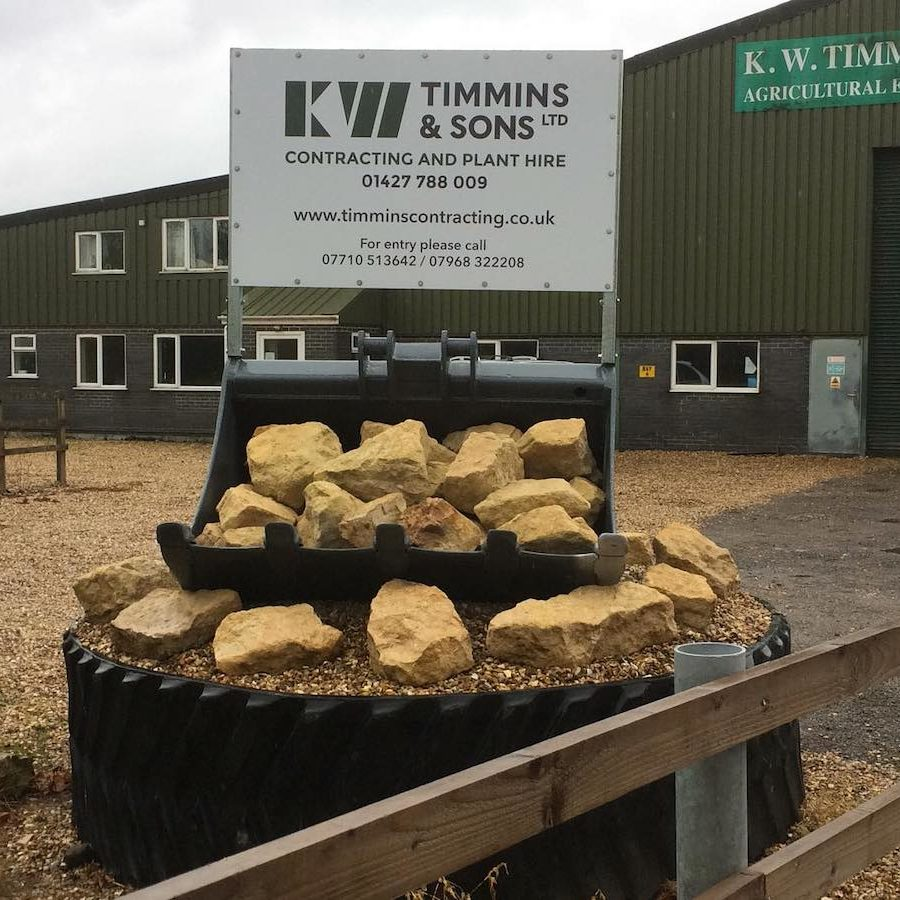 K W Timmins agricultural engineers full construction package Lincoln