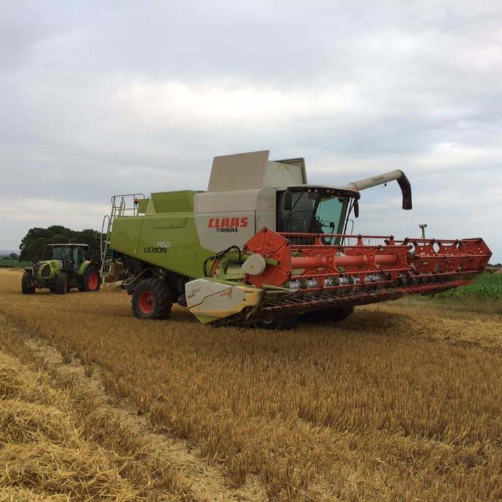 K W Timmins agricultural contracting services in Lincolnshire