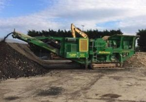 Stone crusher groundwork services plant machinery K W Timmins Lincoln